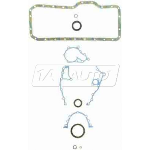 1982-88 Toyota 2.8L 5MGE DOHC Lower Engine Gasket Set