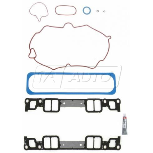 1996-02 GM 5.0L 5.7L Upper, Lower Intake Manifold & (1) Valve Cover Gasket Set