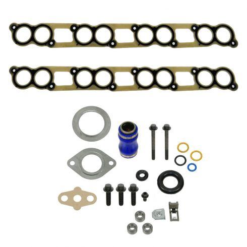 05-09 Ford E350; 06-08 E450; 06-07 F250-F550 SD w/6.0L Diesel EGR Cooler Gasket Set