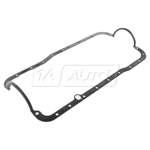 69-97 Ford, Lincoln, Mercury Multifit w/5.8L High Perf One Piece Rubber Oil Pan Gasket (Ford Racing)