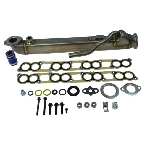 04 (from 9-22-03)-10 Ford Super Duty Van, Pickup w/5.9L, 6.0L, 7.2L Dsl Straight Core EGR Cooler Kit