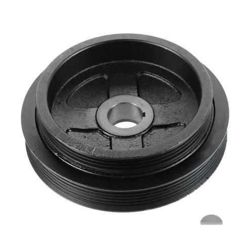 00-02 Nissan Sentra GXE, XE; 03-06 Sentra w/1.8L w/Dual Serp Belt Harmonic Balancer