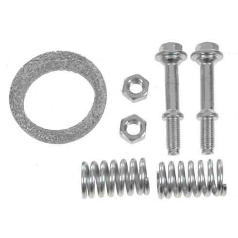 Front Exhaust Pipe Gasket & Spring Bolt Kit