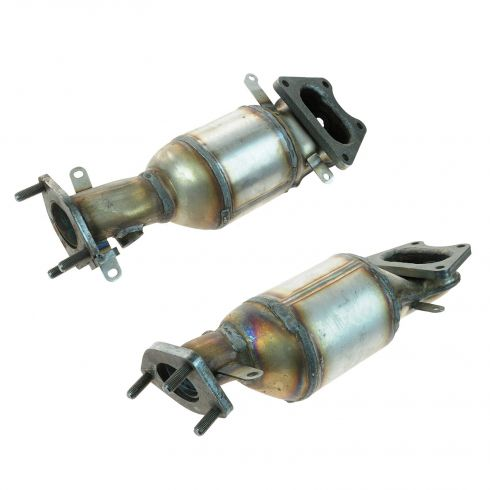 03-10 Honda 3.0L, 3.5L; 03-08 Acura 3.2L, 3.5L Multifit Front Exhaust Man w/Cat Pair