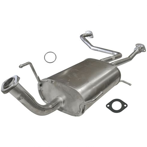 Muffler with Gaskets
