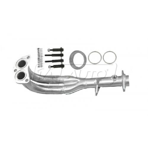 Exhaust Flex Pipe with Gaskets & Spring Bolt Kit