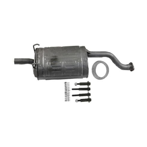 Muffler with Gasket & Spring Bolt Kit