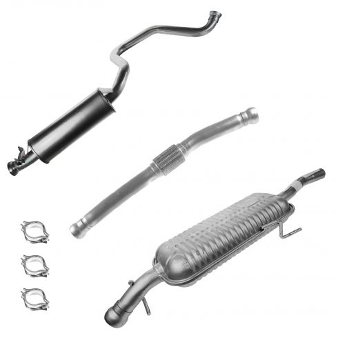 94-98 Saab 900 2.3L Cat Back Exhaust System