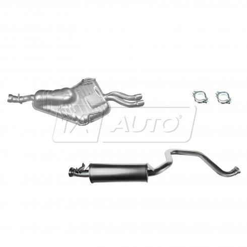 94-98 Saab 900 2.5L  Cat Back Exhaust System
