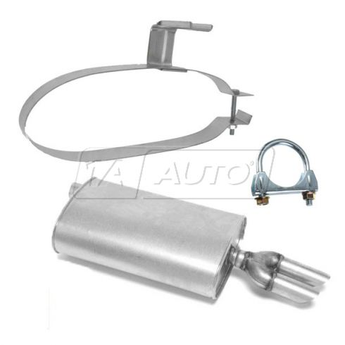 Muffler with Hanger & Clamp