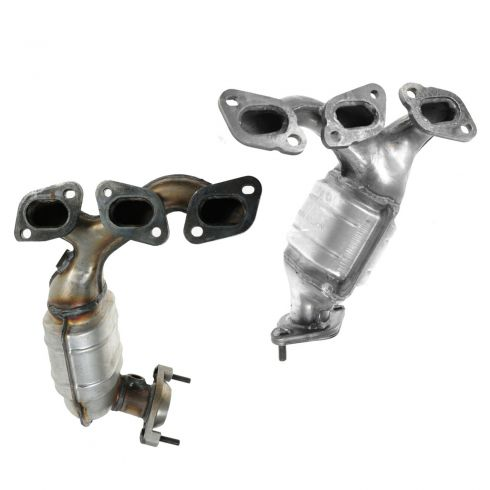 07-08 Ford Escape, Mercury Mariner w/3.0L Exhaust Manifold w/Catalytic Converter Pair