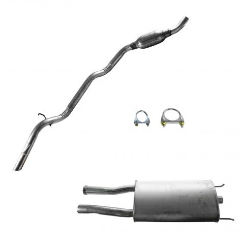 97-11/8/99 Ford Explorer 4 Dr 4.0L E; Mercury Mountaineer Muffler & Tail Pipe Kit
