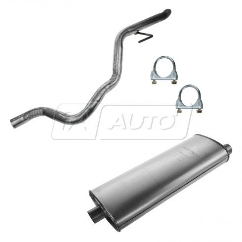 99-01 Jeep Grand Cherokee w/4.0L, 4.7L Muffler, Tailpipe, & Clamp Kit