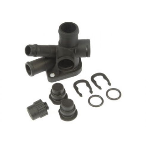 1993-02 VW Multifit 2.0L Thermostat Housing Cooling Outlet Kit