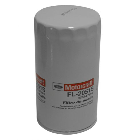 11-15 Ford F250SD, F350SD, F450SD, F550SD w/6.7L Turbo Diesel Engine Oil Filter (Motorcraft)