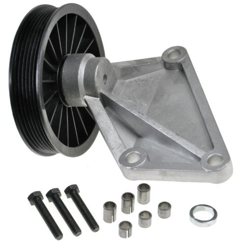 1995-02 Cougar Escape Contour Air Conditioning Compressor Bypass Pulley V6 ONLY