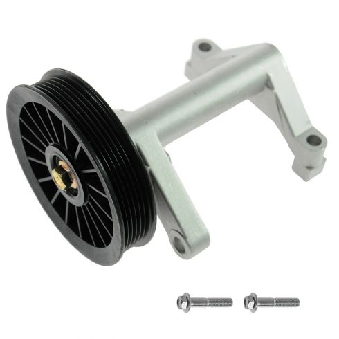 01-07 Chrysler Town & Country, Caravan, Grand Caravan; 01-03 Voyager w/3.3L 3.8L A/C By Pass Pulley