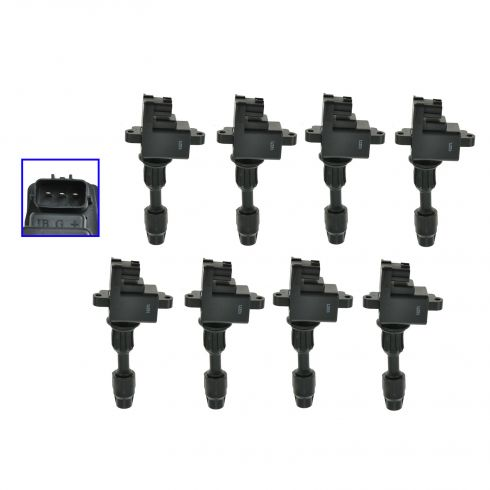 97-01 Infinity Q45 4.1L Ignition Coil (SET of 8)