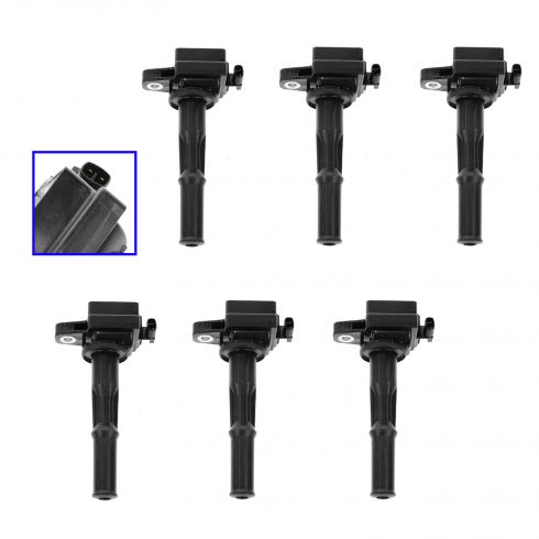 94-95 Toyota Camry Lexus ES300; 95 Avalon 3.0L COP Ignition Coil (SET of 6)