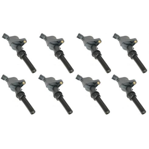 1997-08 Ford Lincoln Mercury Multifit Ignition Coil (SET of 8)