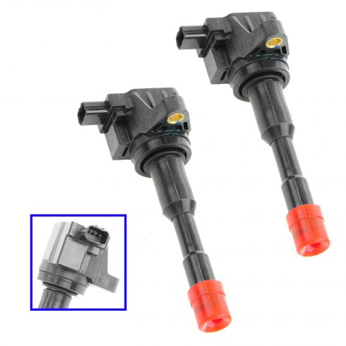 03-05 Honda Civic Hybrid 1.3L Ignition Coil REAR (SET of 2)