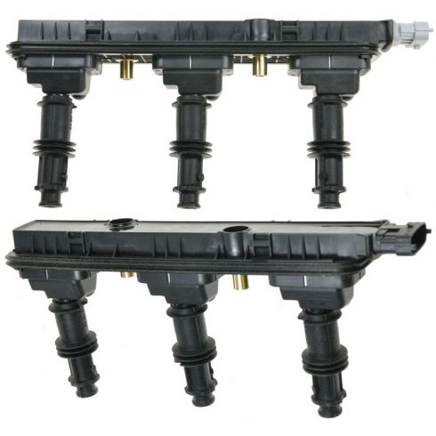 1999-01 Cadillac Catera; 03-04 CTS; 00-05 Saturn L; 02-03 Vue Ignition Coil Pack PAIR