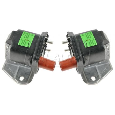 1990-96 Mercedes 400 500 600 E S SL Series Multifit Ignition Coil PAIR