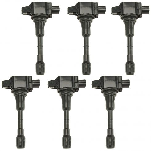 09-13 370Z; 08-13 G37; 11-13 M37 Ignition Coil Set of 6