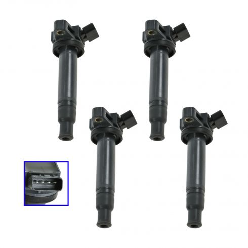 98-10 Lexus Toyota 8 Cyl Ignition Coil Set of 4
