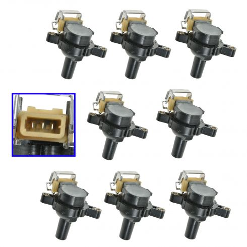 02-05 Land Rover Range Rover (Short Design) Ignition Coil Set of 8