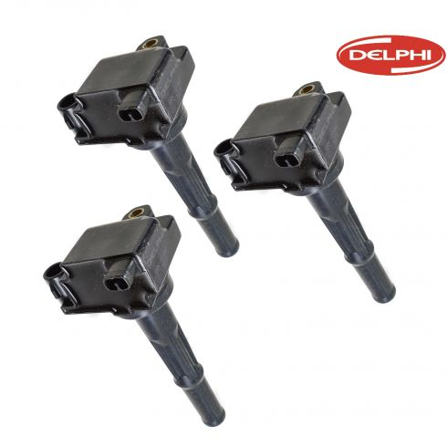 95-04 Toyota Truck 3.4L Ignition Coil Set of 3 (Delphi)