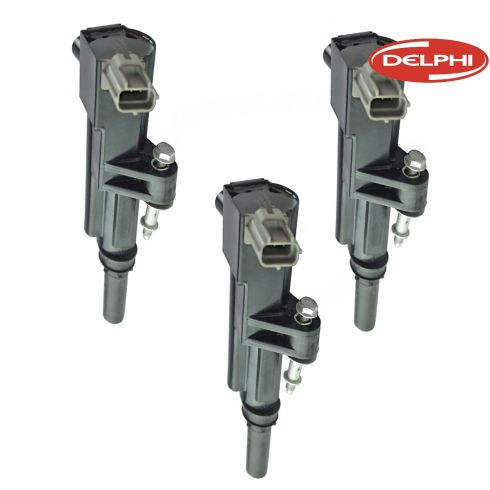 09-12 Dodge, Jeep, Mitsubishi, Ram Multifit w/3.7L Ignition Coil (Set of 3) (Delphi)
