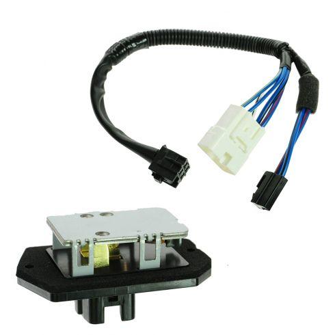 00-05 Toyota Echo Blower Motor Resistor w/Plug & Pigtail Kit