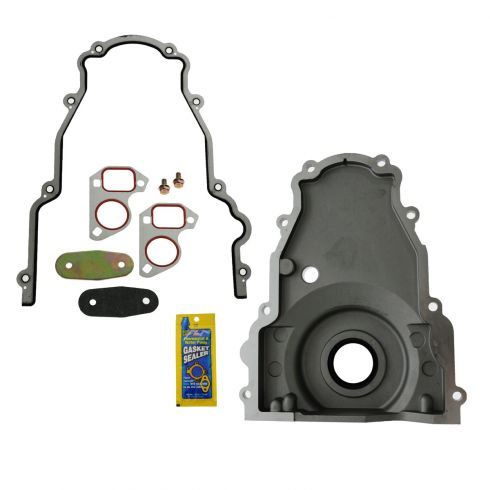 99-12 GM Multifit w/4.8L, 5.3L, 5.7L, 6.0L, 6.2L  Timing Cover w/Install Kit