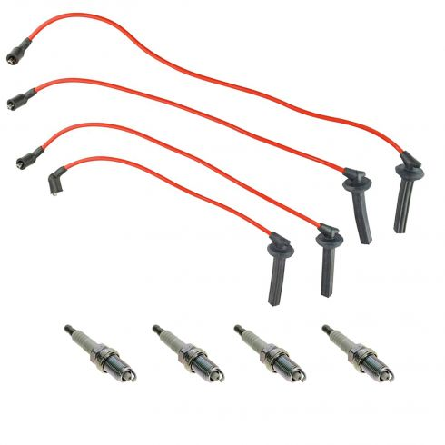 90-01 Acura Integra 1.8L Spark Plugs and Wires Kit