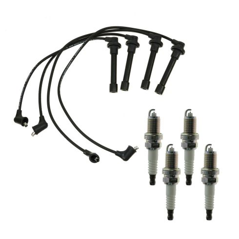 97-99 CL; 94-02 Accord; 92-00 Civic; 98 Odyssey Spark Plugs and Wires Kit