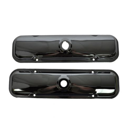 Pontiac V8 Chrome Valve Cover Pair