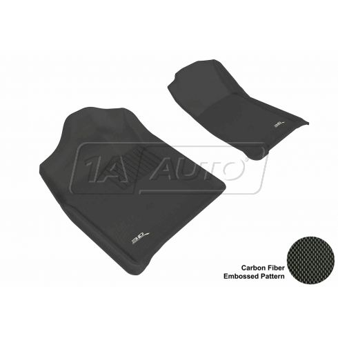 07-13 Chev/GMC SUV/Truck Black Front Floor Liner