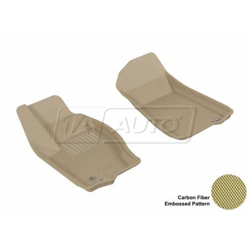2005-10 Grand Cherokee, 06-10 Commander Tan Front Floor Liner