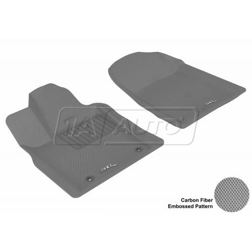 11-13 Jeep Grand Cherokee, Dodge Durango Gray Front Floor Liner
