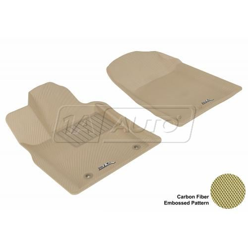 11-13 Jeep Grand Cherokee, Dodge Durango Tan Front Floor Liner