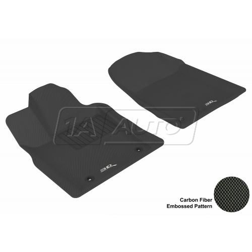 11-13 Jeep Grand Cherokee, Dodge Durango Black Front Floor Liner