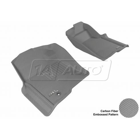 09-13 F150 Reg/Super/SuperCrew Gray Front Floor Liner
