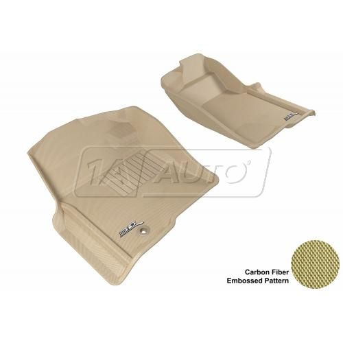 09-13 F150 Reg/Super/SuperCrew Tan Front Floor Liner