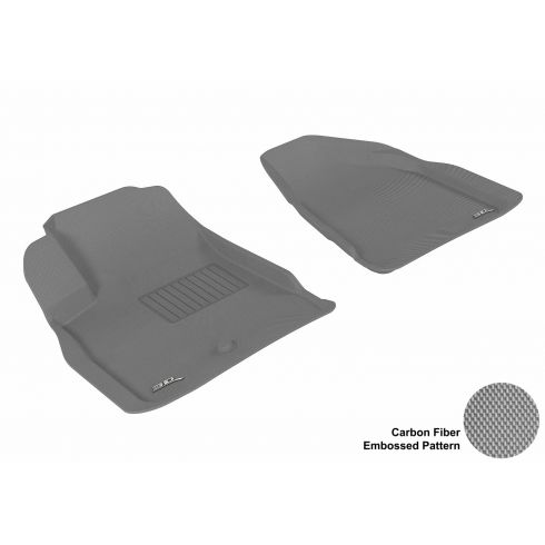 08-13 Acadia/Enclave/Outlook/Traverse Gray Front Floor Liner
