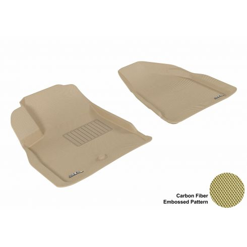 08-13 Acadia/Enclave/Outlook/Traverse Tan Front Floor Liner