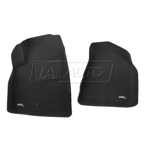 08-13 Acadia/Enclave/Outlook/Traverse Black Front Floor Liner