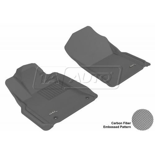 10-13 Toyota Tundra Gray Front Floor Liner