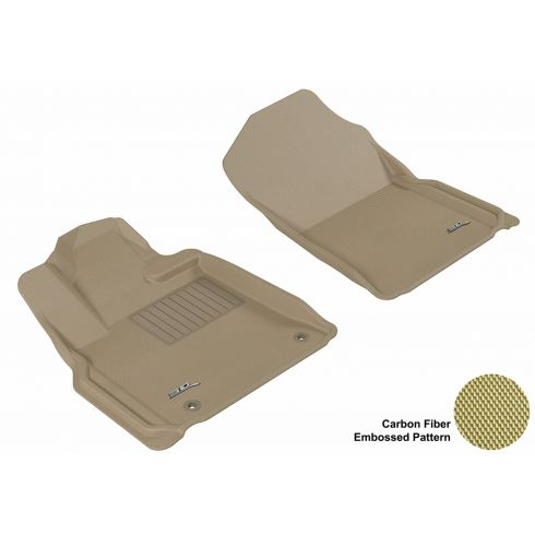 10-13 Toyota Tundra Tan Front Floor Liner