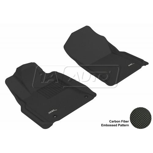 07-11 Toyota Tundra Black Front Floor Liner